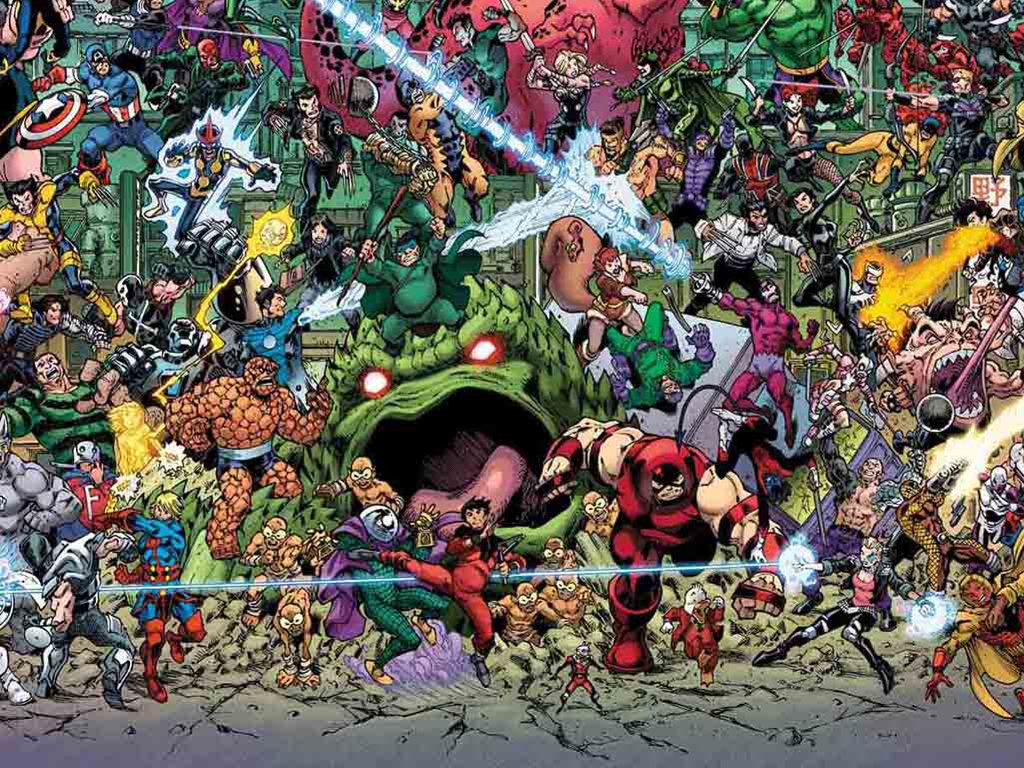 Comics Wallpaper: Where is Wolverine?