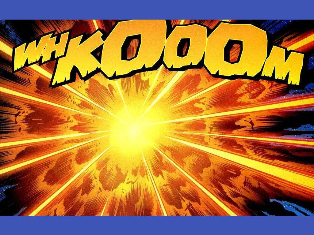 Comics Wallpaper: Whkoooom!