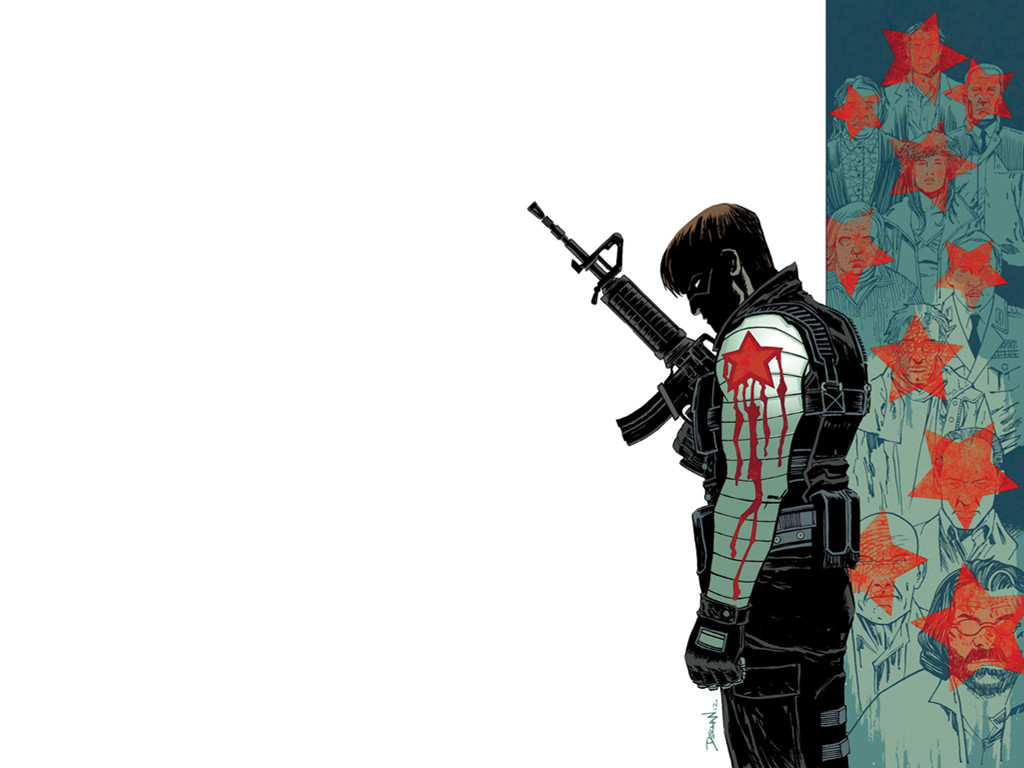 Comics Wallpaper: Winter Soldier