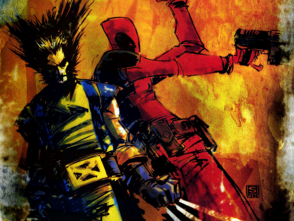 Comics Wallpaper: Wolverine and Deadpool