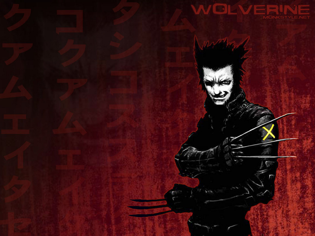 Comics Wallpaper: Wolverine - Manga Style