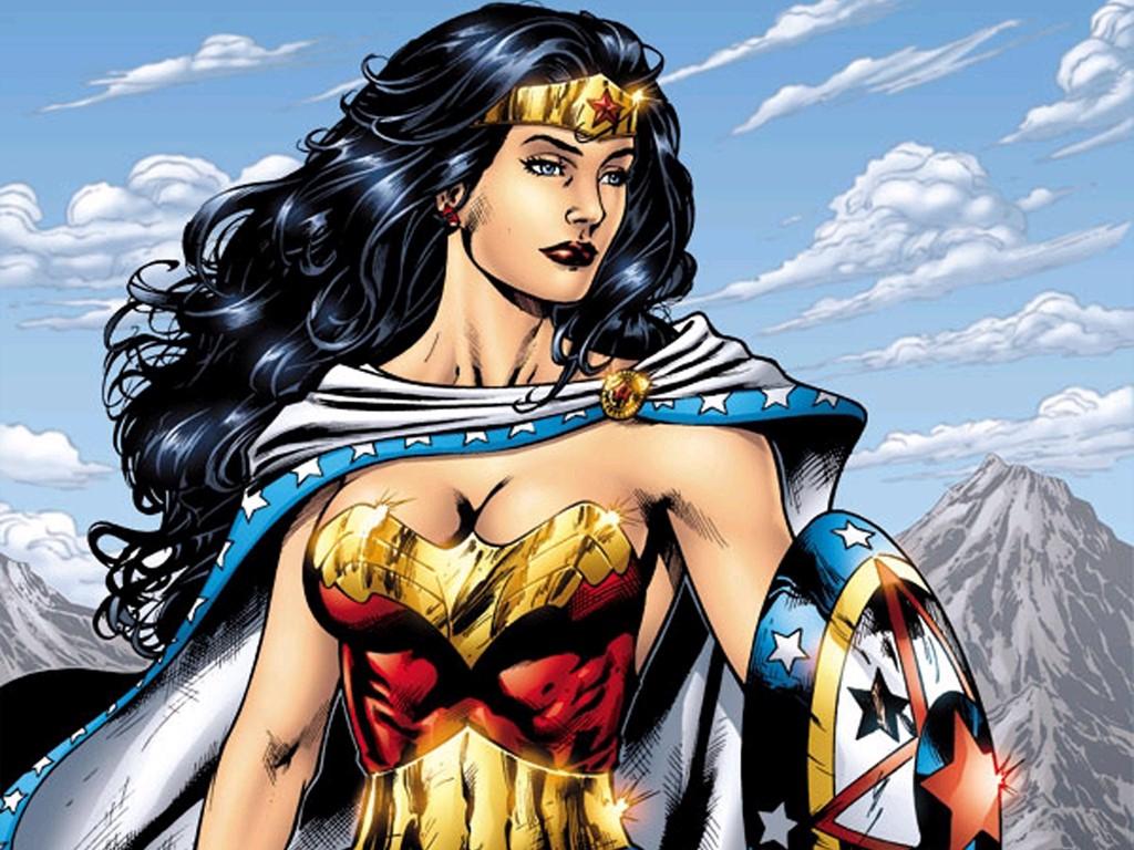 Papel de Parede Gratuito de Quadrinhos : Mulher Maravilha