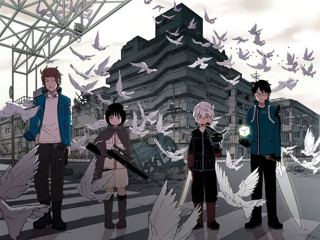 Comics Wallpaper: World Trigger