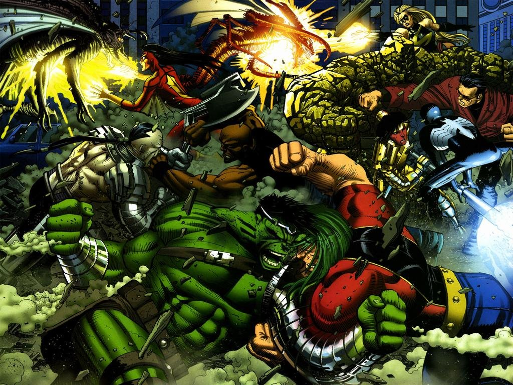 Comics Wallpaper: World War Hulk
