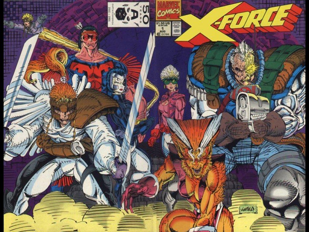 Comics Wallpaper: X-Force