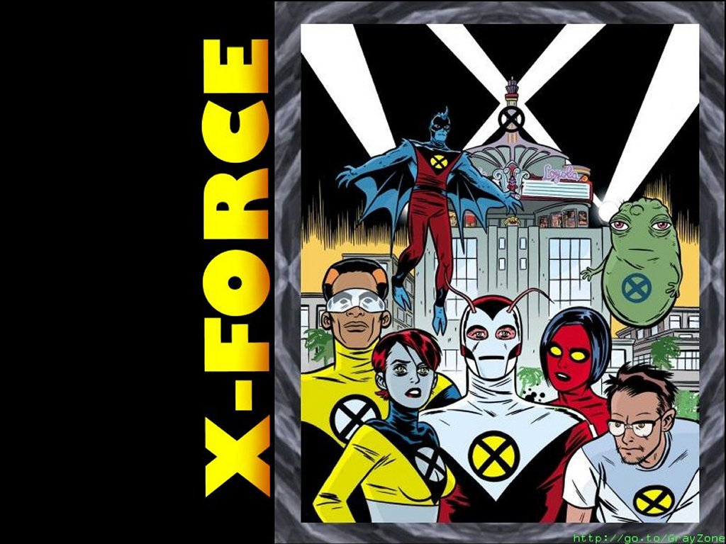 Comics Wallpaper: X-Force
