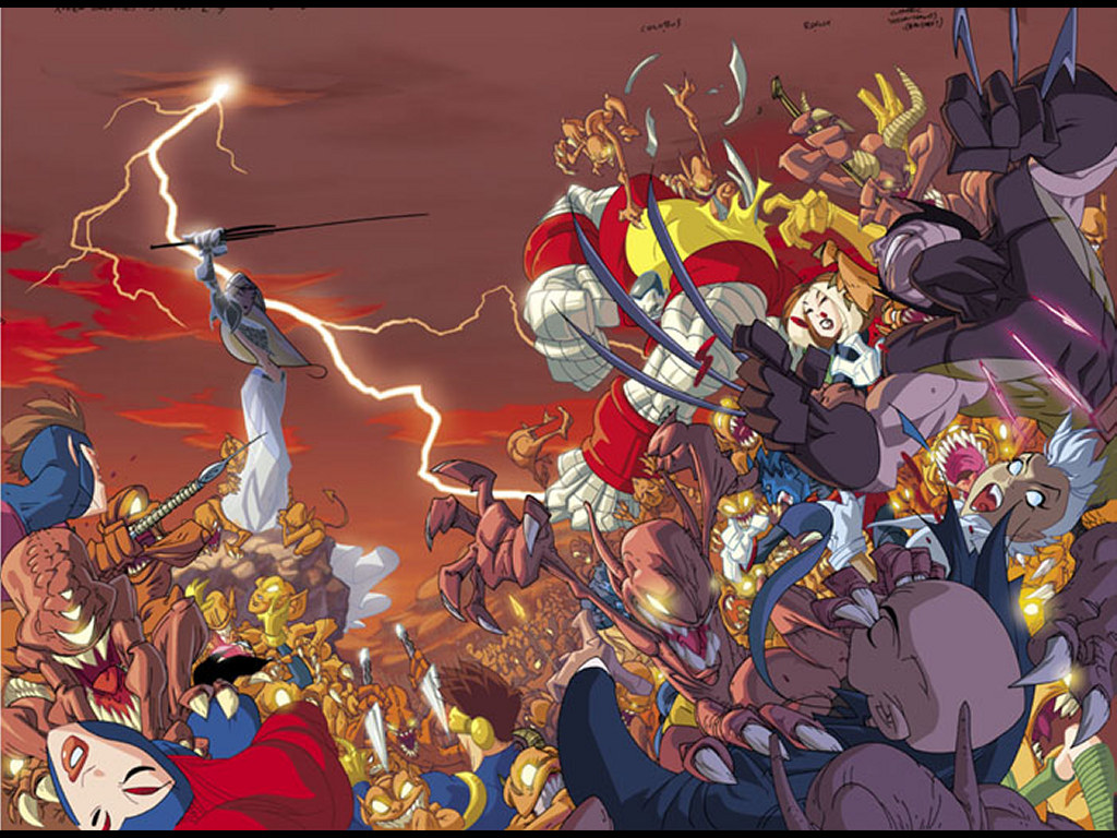 Comics Wallpaper: X-Men Unlimited