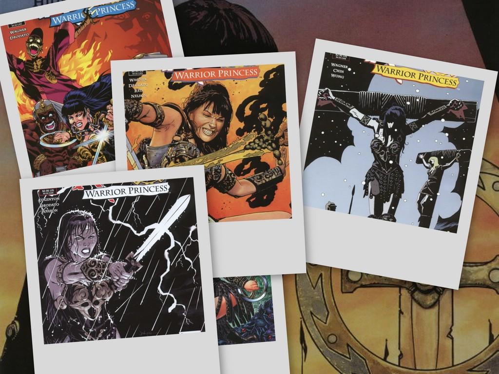 Comics Wallpaper: Xena - Comics