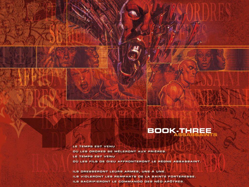 Comics Wallpaper: Yiu - Book Three