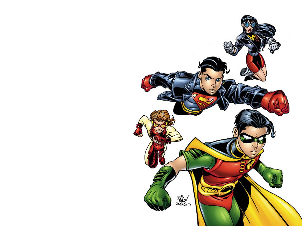 Comics Wallpaper: Young Justice