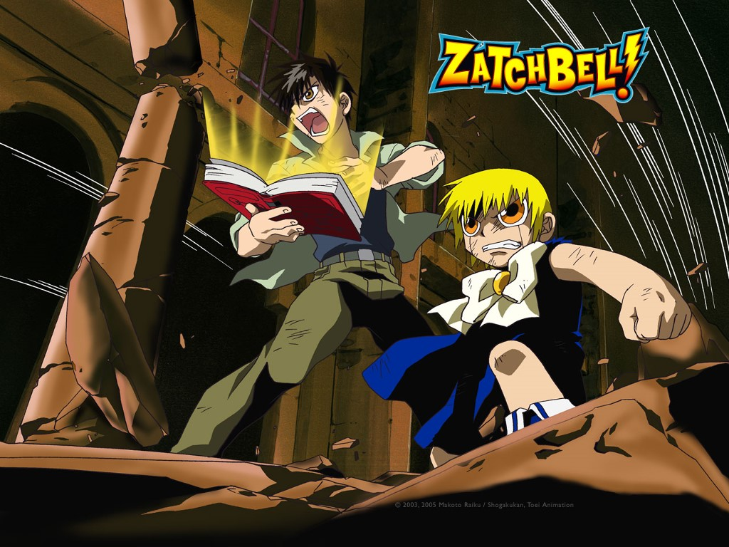 Comics Wallpaper: Zatchbell!