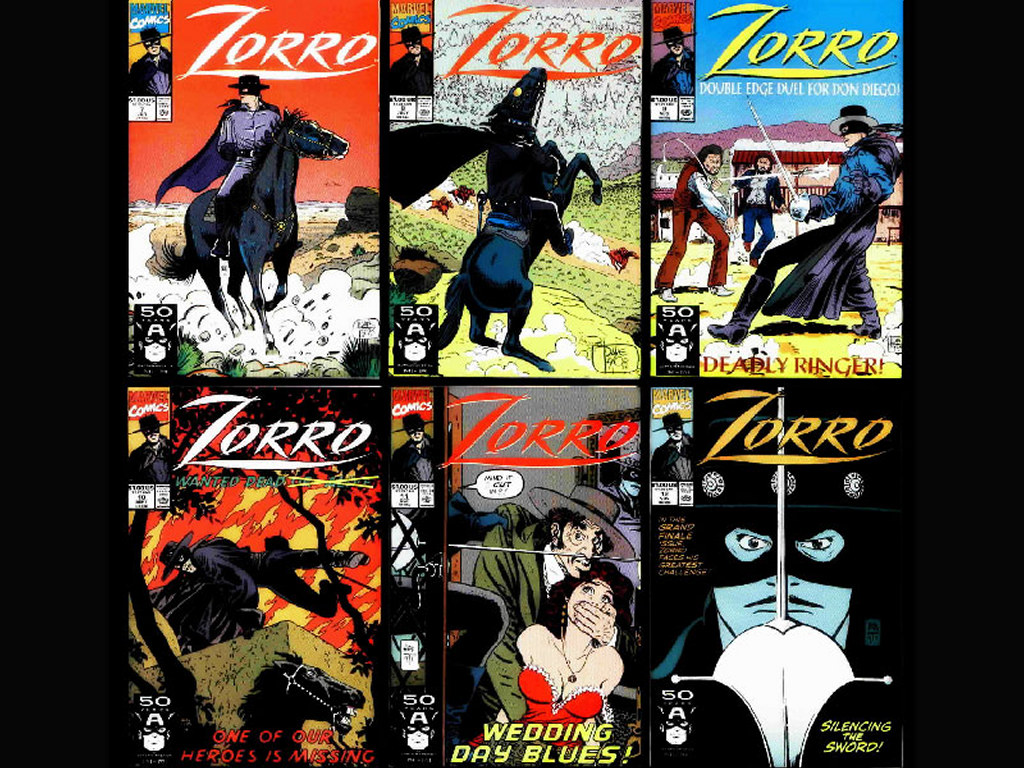 Comics Wallpaper: Zorro