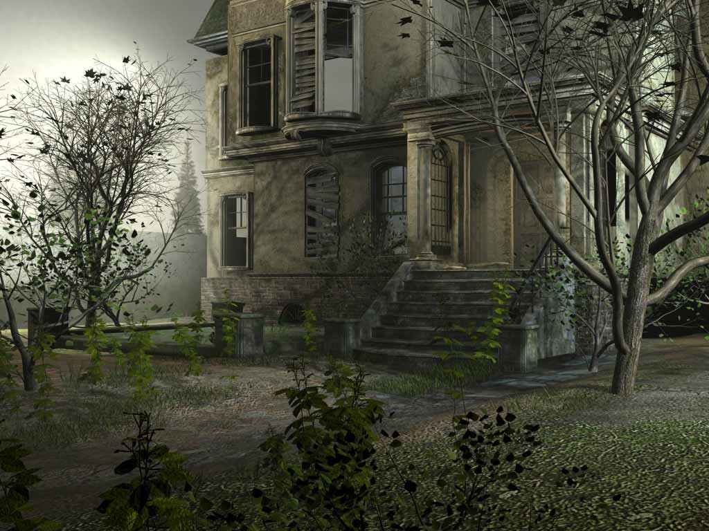 Fantasy Wallpaper: Abandoned Manoir