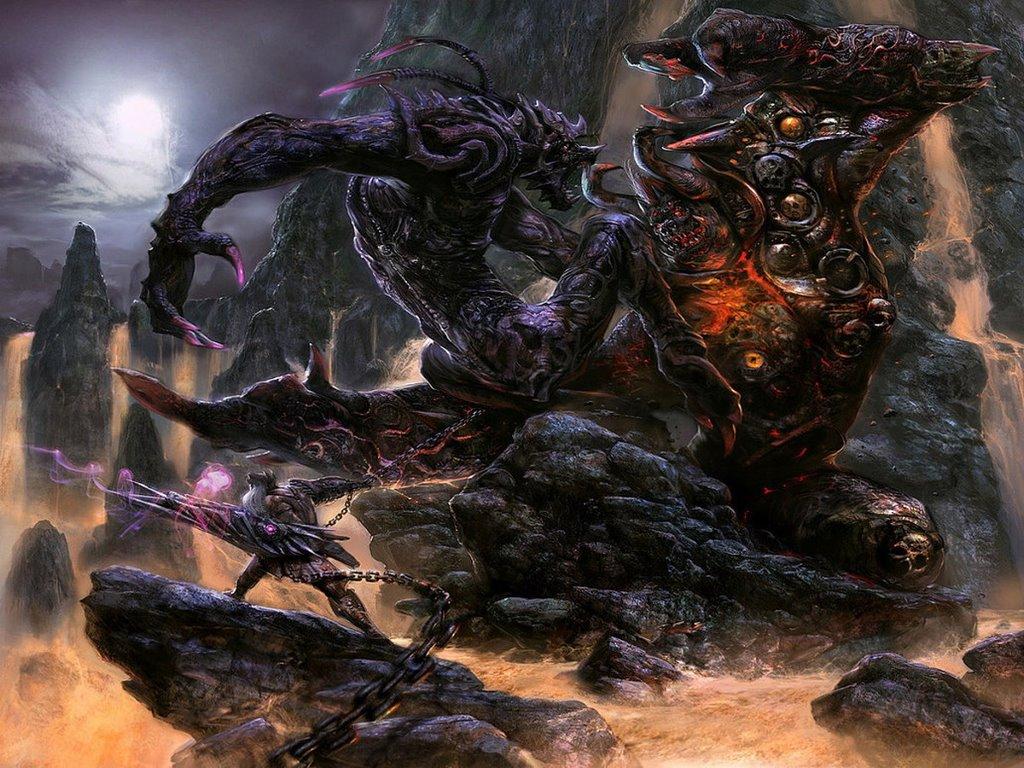 Fantasy Wallpaper: Abominations