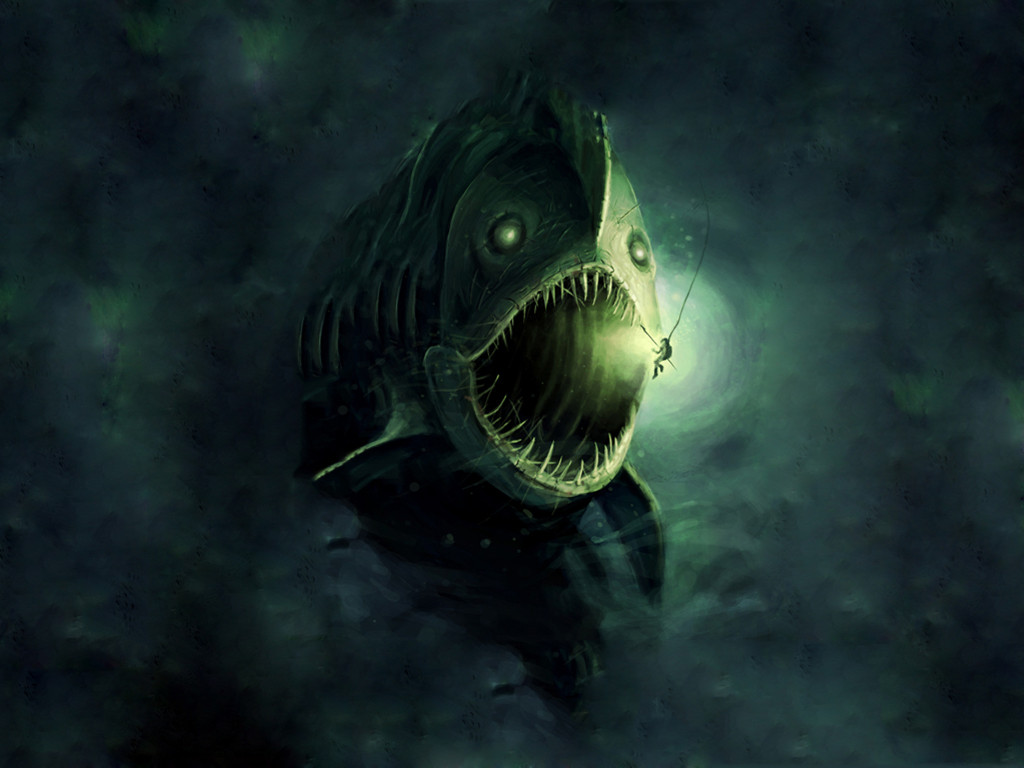 Fantasy Wallpaper: Abyssal Leviathan