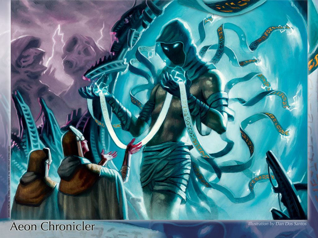 Fantasy Wallpaper: Aeon Chronicler