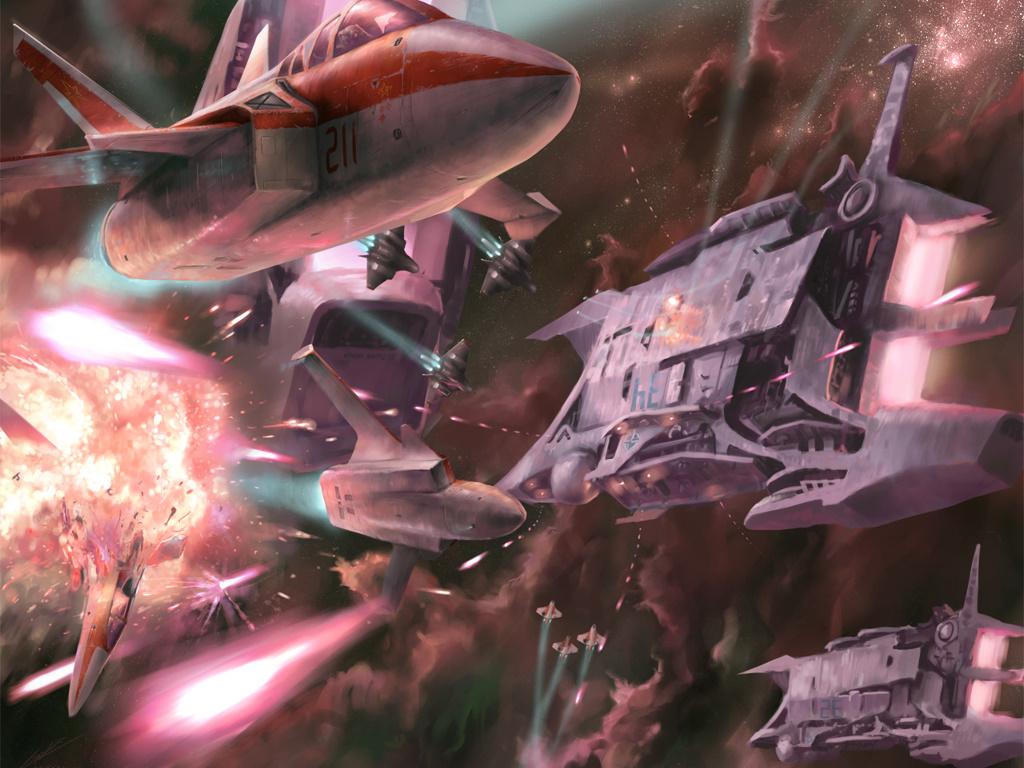 Fantasy Wallpaper: Air Strike