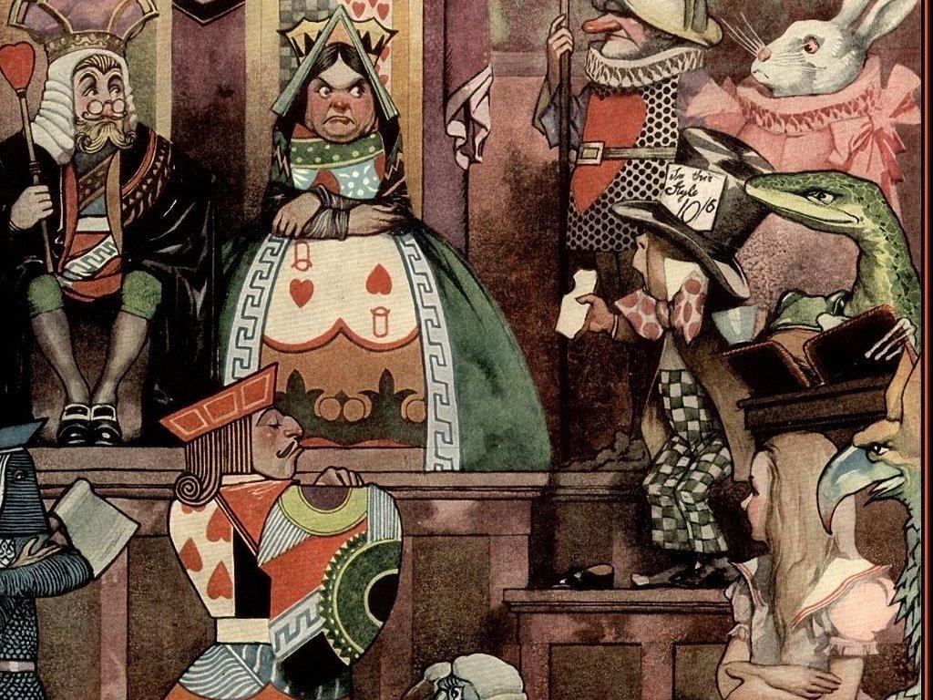 Fantasy Wallpaper: Alice in the Wonderland