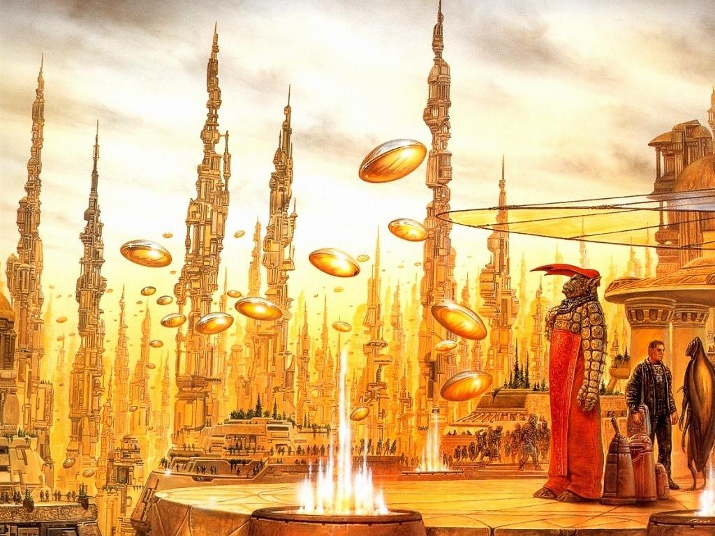 Fantasy Wallpaper: Alien City