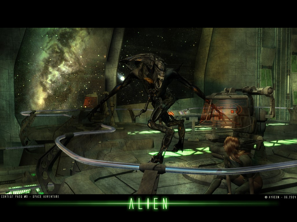 Fantasy Wallpaper: Alien Queen