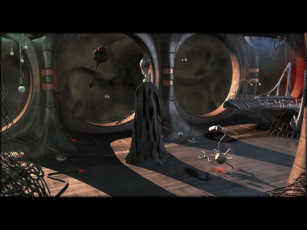 Fantasy Wallpaper: Alien - Spaceship