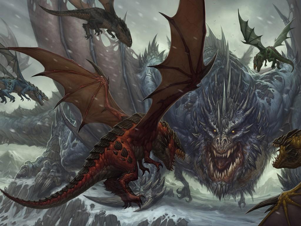 Fantasy Wallpaper: Alpha Dragon