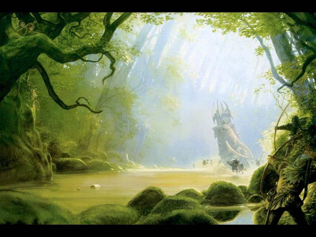 Fantasy Wallpaper: Ambush