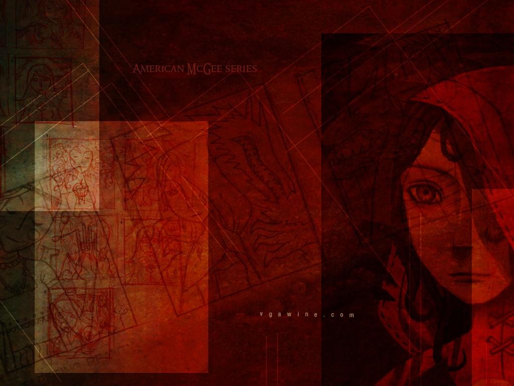Fantasy Wallpaper: American McGee - Little Red Hood