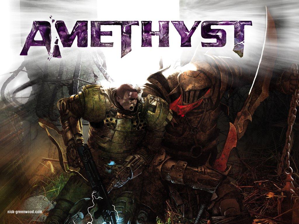 Fantasy Wallpaper: Amethyst