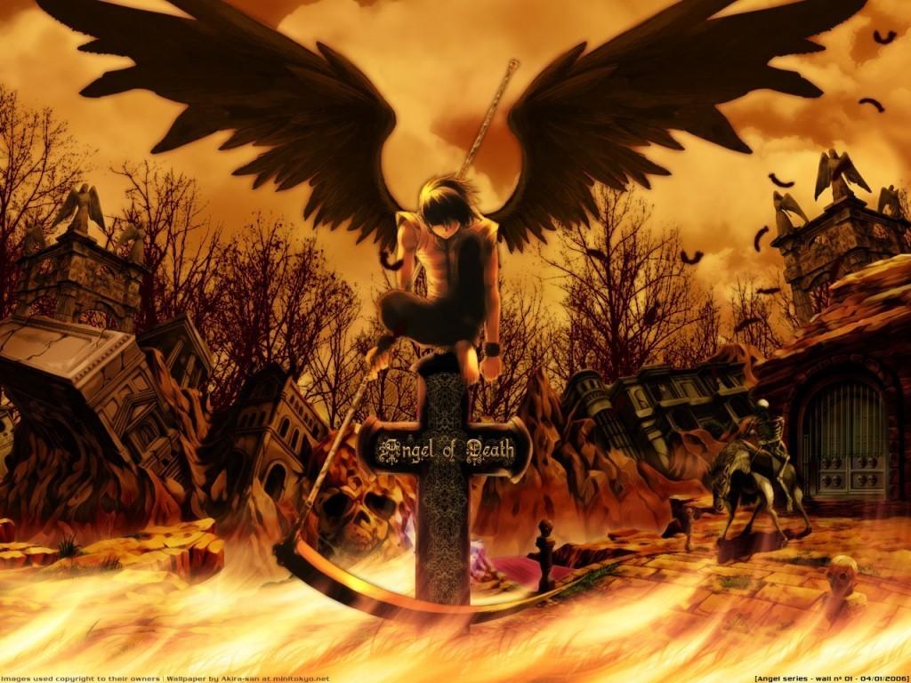 Fantasy Wallpaper: Angel of Death