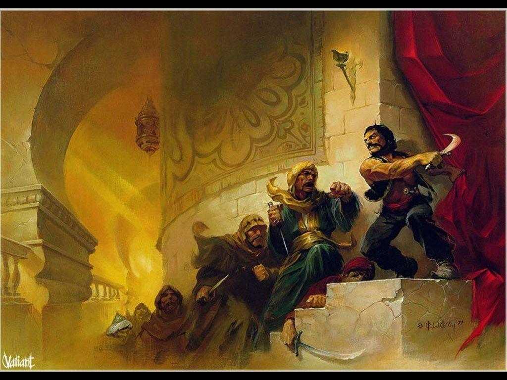 Fantasy Wallpaper: Arabian Fights
