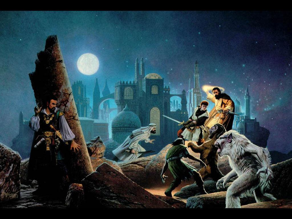 Fantasy Wallpaper: Arabian Knights