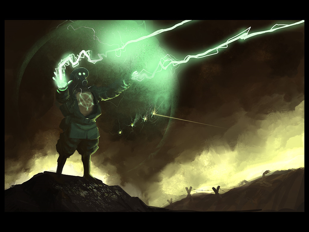 Fantasy Wallpaper: Arcane Soldier