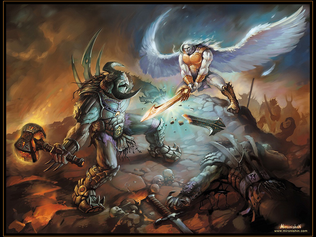 Fantasy Wallpaper: Archangel