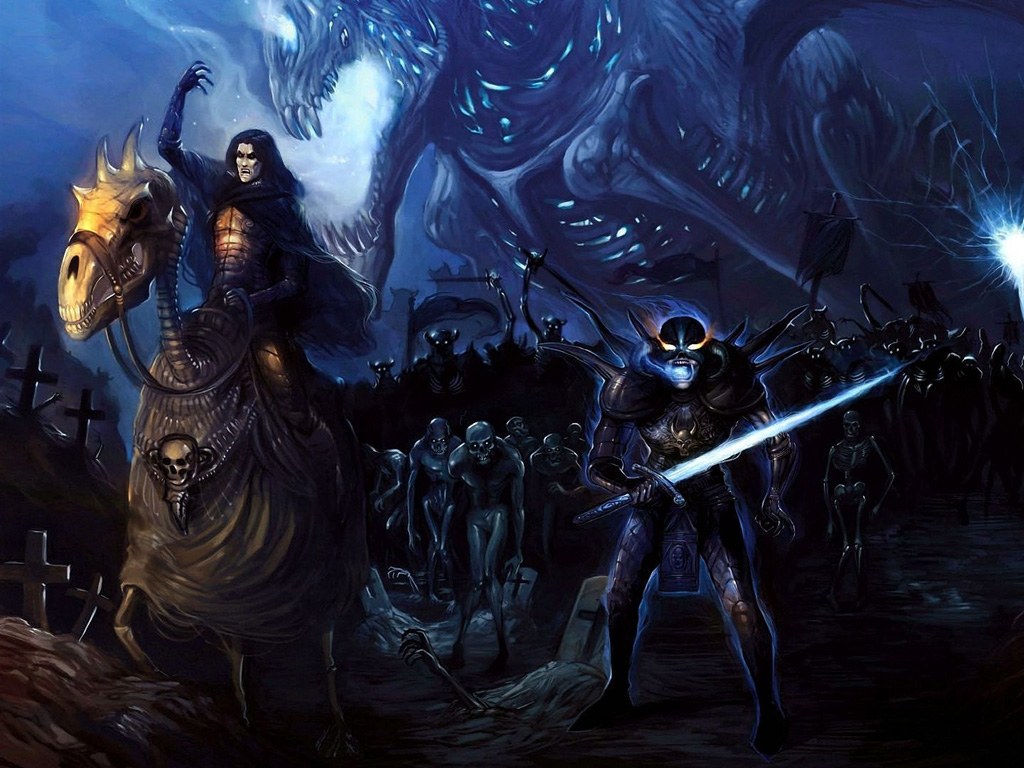 Fantasy Wallpaper: Army of the Undead