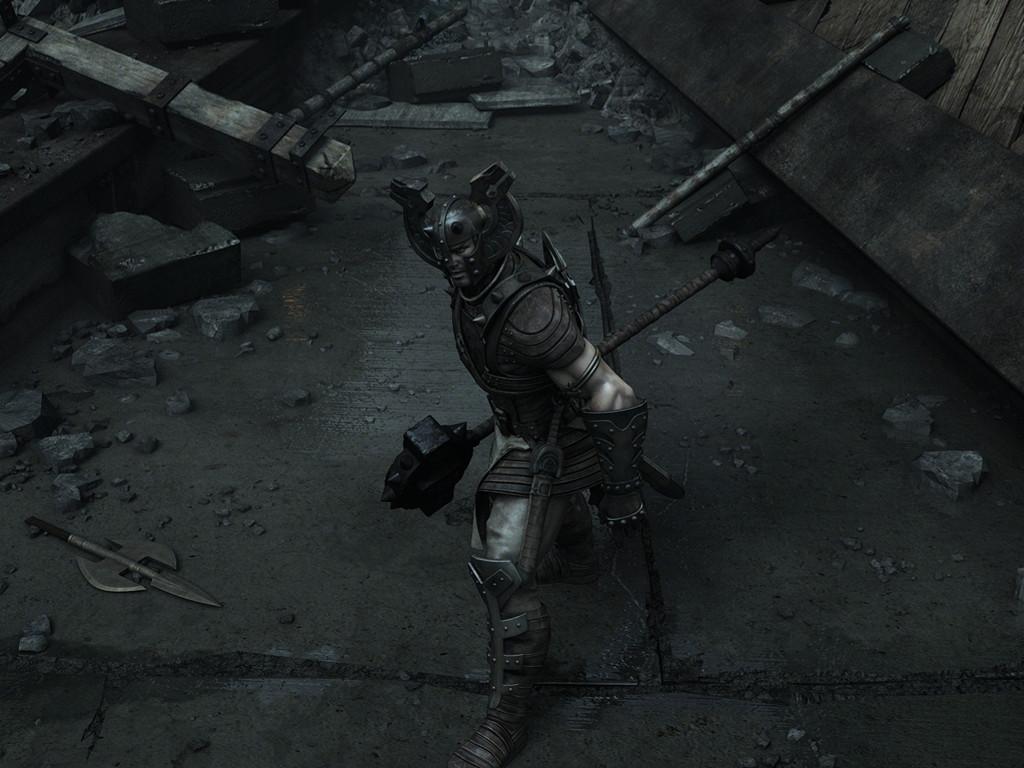 Fantasy Wallpaper: Asgardian Warrior