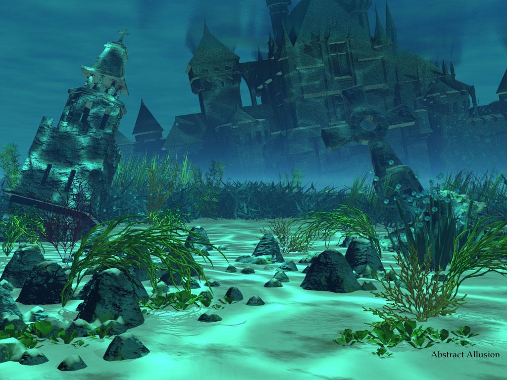 Fantasy Wallpaper: Atlantis
