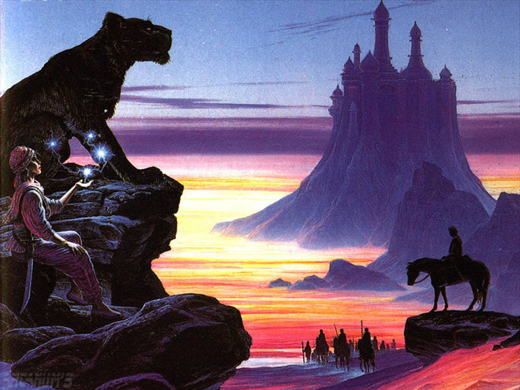 Fantasy Wallpaper: Aurian - Black Panther