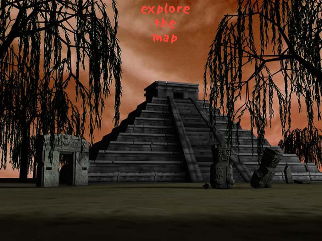 Fantasy Wallpaper: Aztec Pyramid