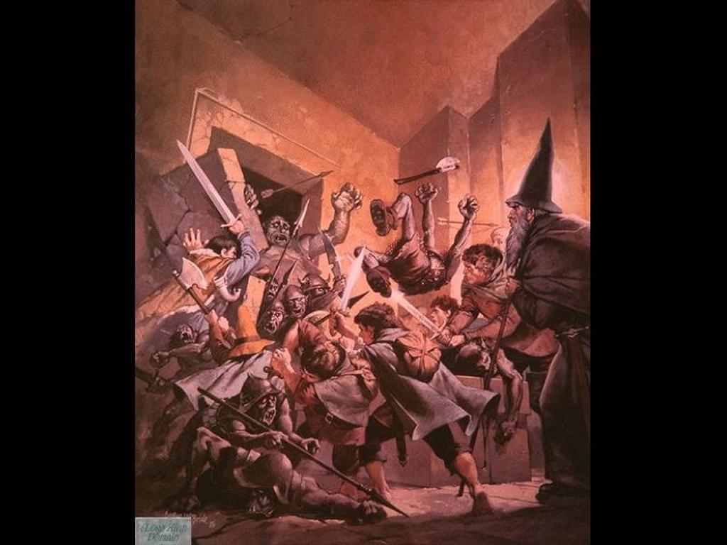 Fantasy Wallpaper: Balin's Tomb