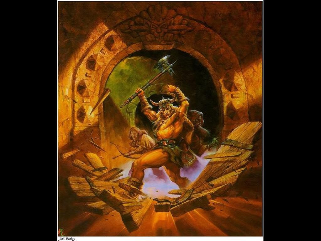 Fantasy Wallpaper: Barbarian Assault