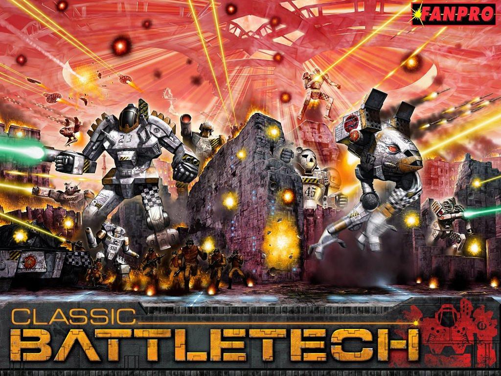 Fantasy Wallpaper: Battletech - Total Warfare