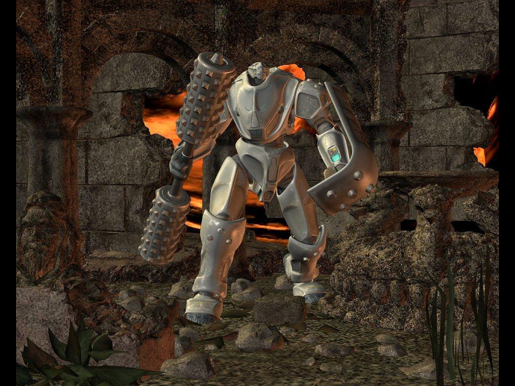 Fantasy Wallpaper: Battle Bot