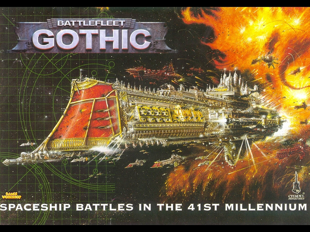 Fantasy Wallpaper: Battlefleet Gothic