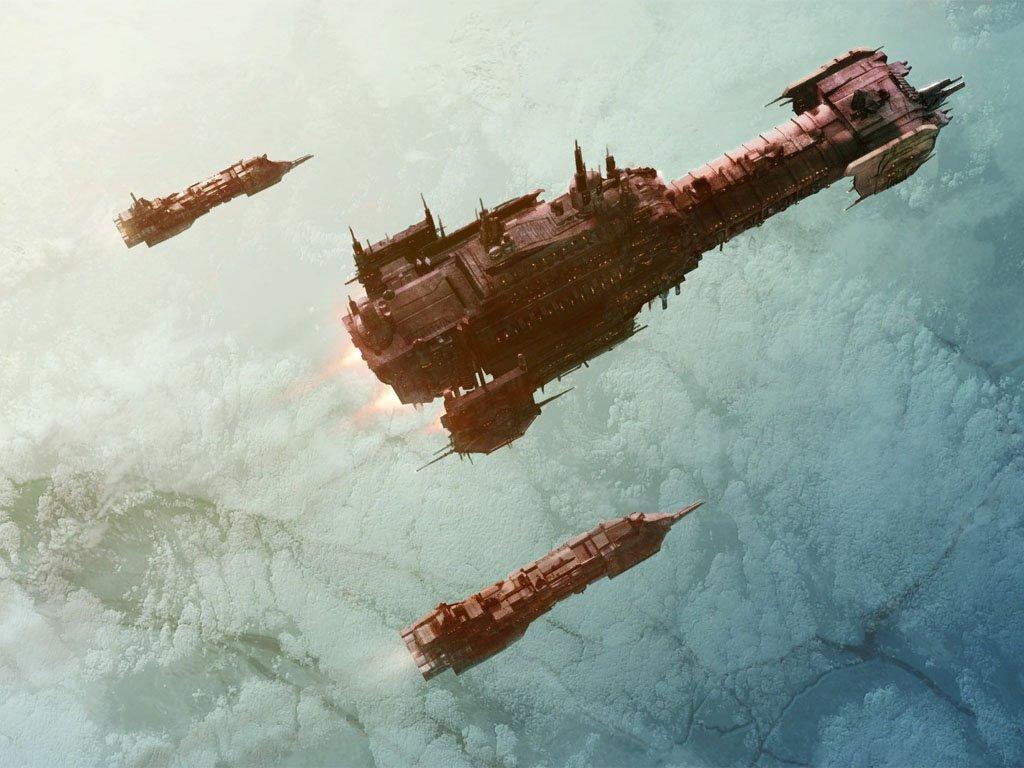 Fantasy Wallpaper: Battlefleet