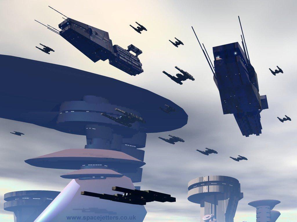 Fantasy Wallpaper: Battleships