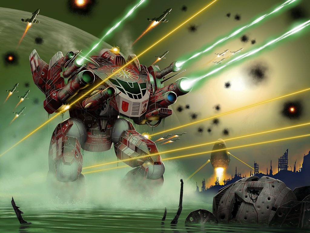 Fantasy Wallpaper: Battletech