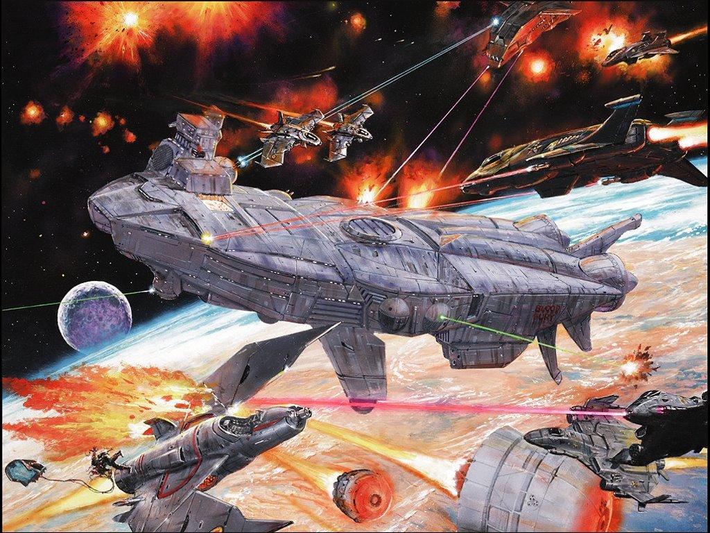 Fantasy Wallpaper: Battletech - Aero Tech