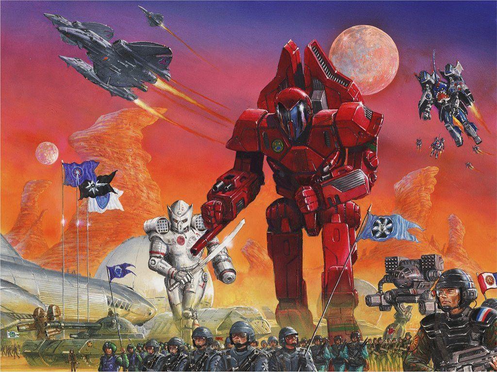 Fantasy Wallpaper: Battletech - Army