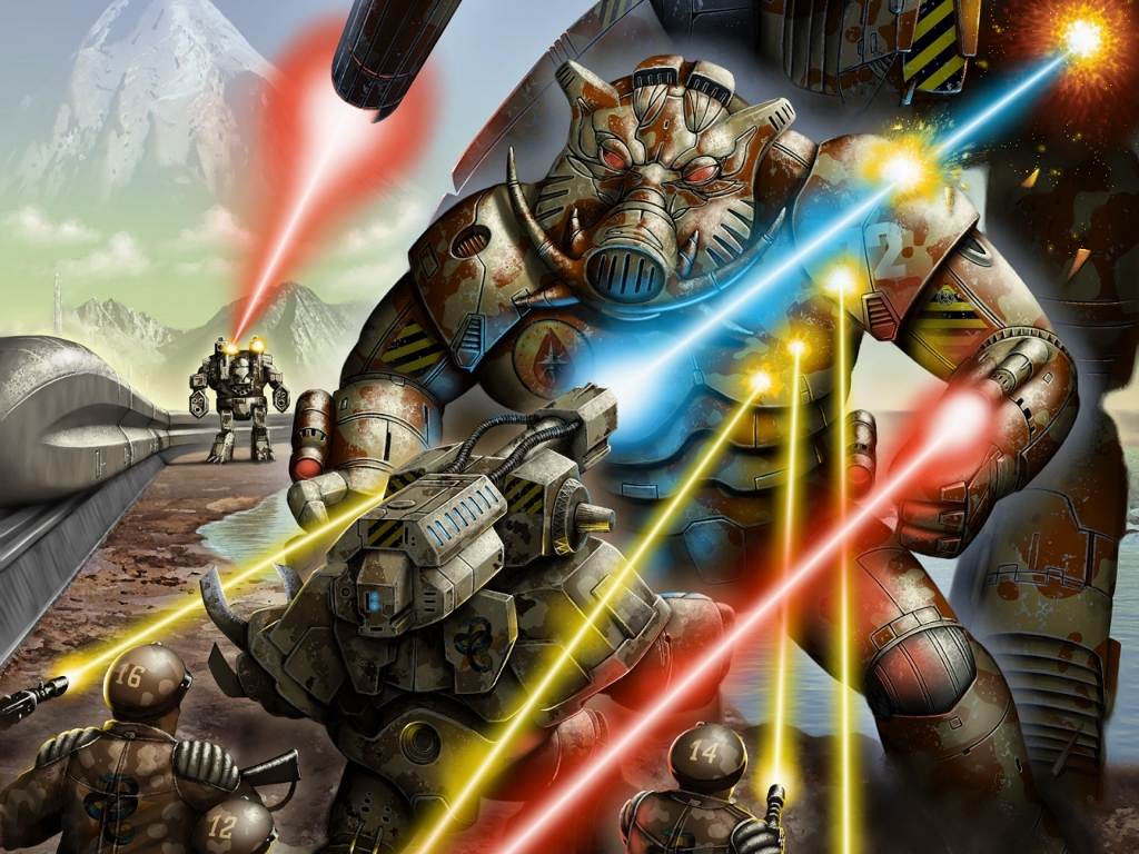 Fantasy Wallpaper: Battletech - Combat Equipment